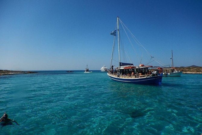 Antiparos and Caves Cruise from Naxos