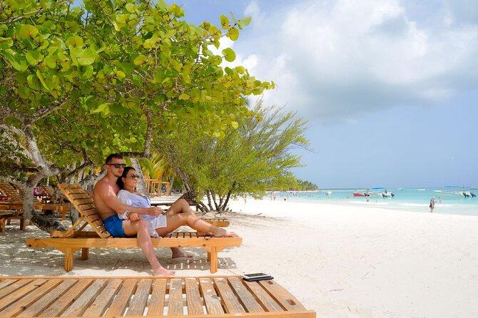 Saona Island from Punta Cana.