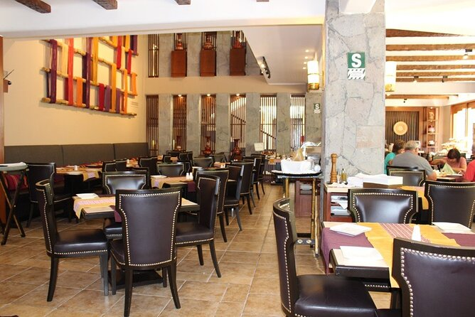 Lunch at Sumaq hotel
