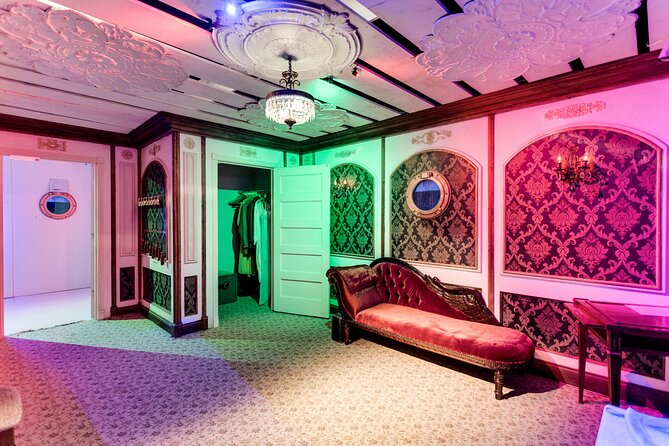 Private Titanic Escape Room Adventure Game