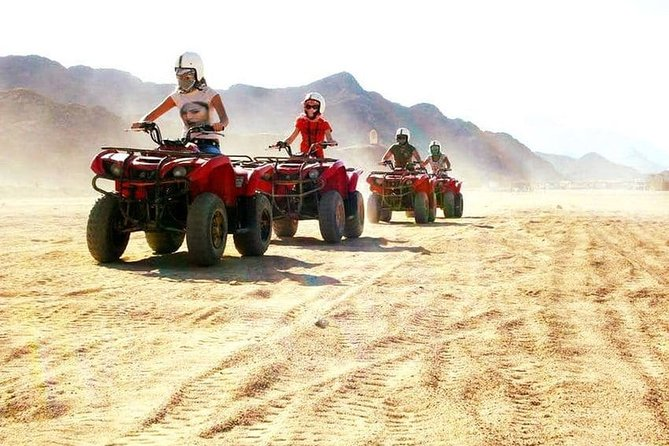 Best of Sharm El Sheikh Safari Quad Bike &Camel Ride With BBQ