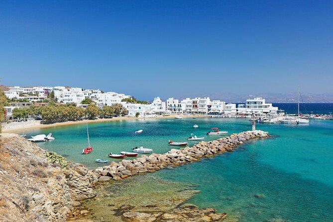 Piso Livadi or Naoussa of Paros island Cruise from Naxos