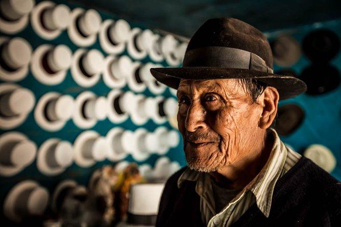 Hat making lessons at Maras community