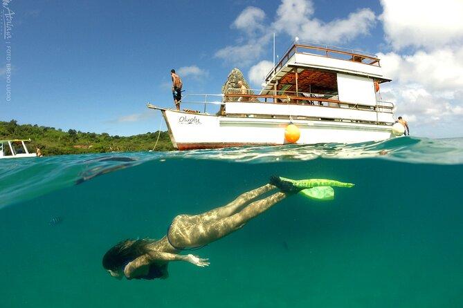 Passeio de Barco com Prancha Subaquática
