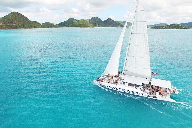 Sailing Antigua's West Coast