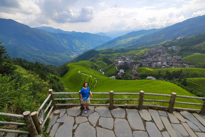 1-Day Longji hiking tour from Ping'an to Old Zhuang Village from Guilin hotel