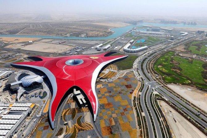 Abu Dhabi City Tour & Ferrari World Tickets