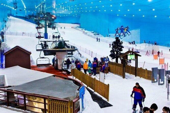 Tour to Ski Dubai & Entrance Tickets