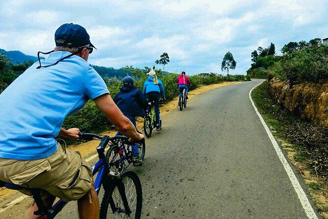 Cycling in Nuwara Eliya City
