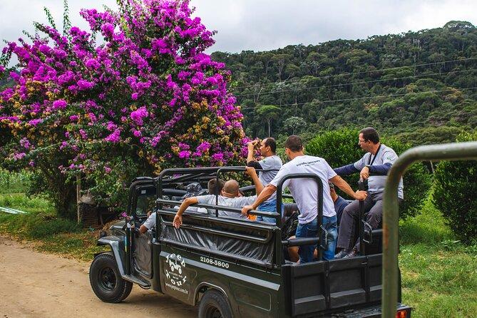 Jeep Tour - Petrópolis / Rj - Ecotourism, waterfall and tastings