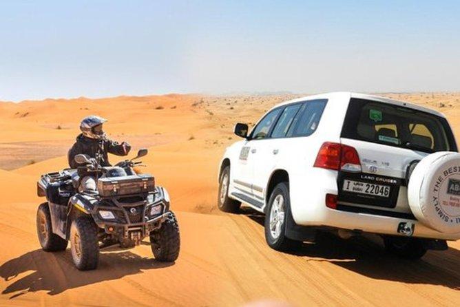 Desert 4x4 safari , Complimentary Atv Ride , Camel Ride