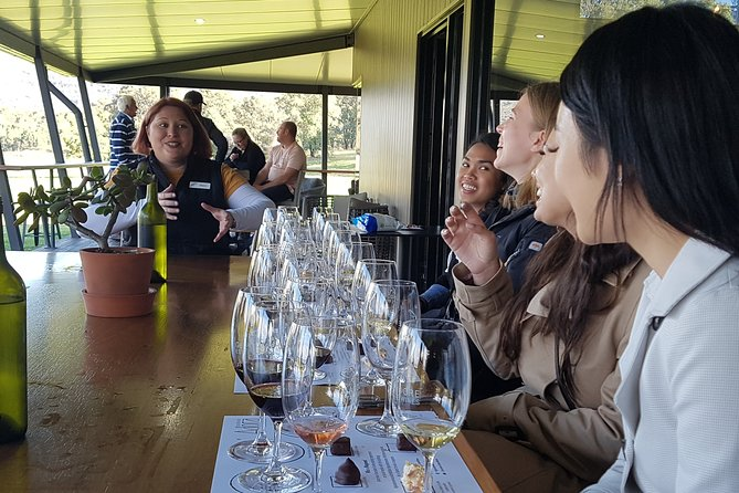 Passionate winemakers take guest through guided tasting at each venue