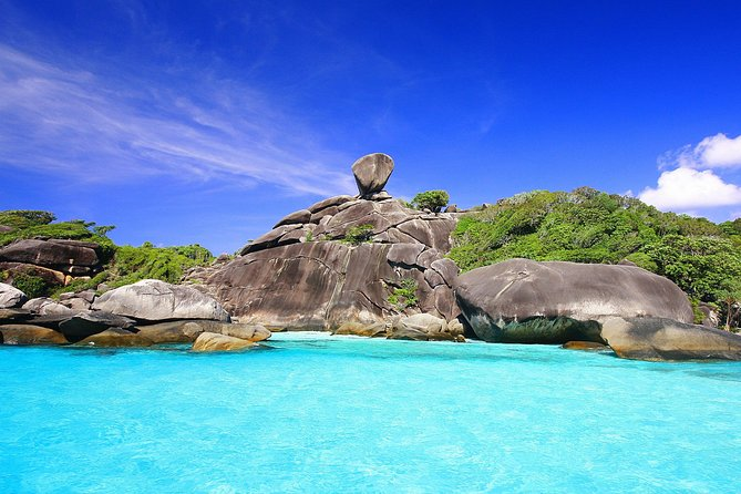 Similan Islands Excursion by Speedboat from Phuket