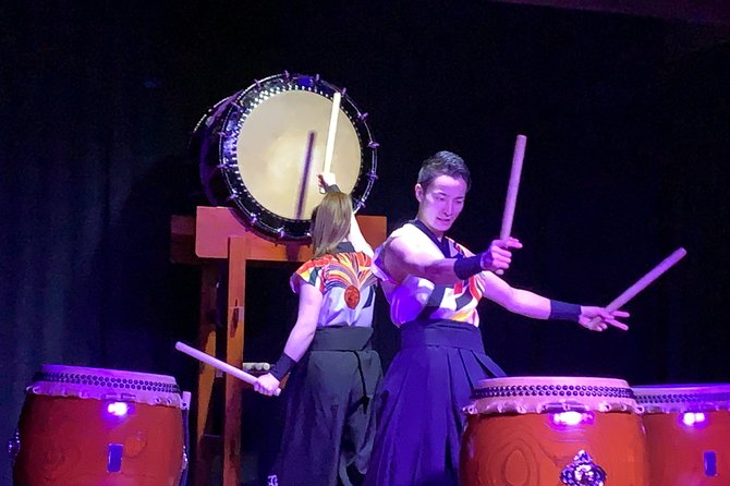 Takayama's only Japanese drum and live performance show of traditional arts