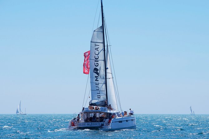 Discover the Costa Brava on a Catamaran - Palamós