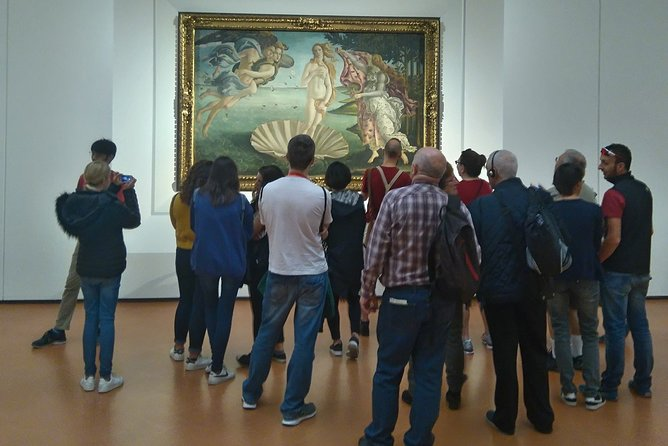 Uffizi of Florence Skip the Line: Private Tour with Expert Art Guide