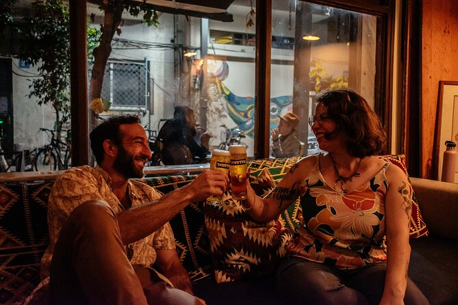 Flavors of Florentin Neighborhood: Drinks & Bites Night Private Tour