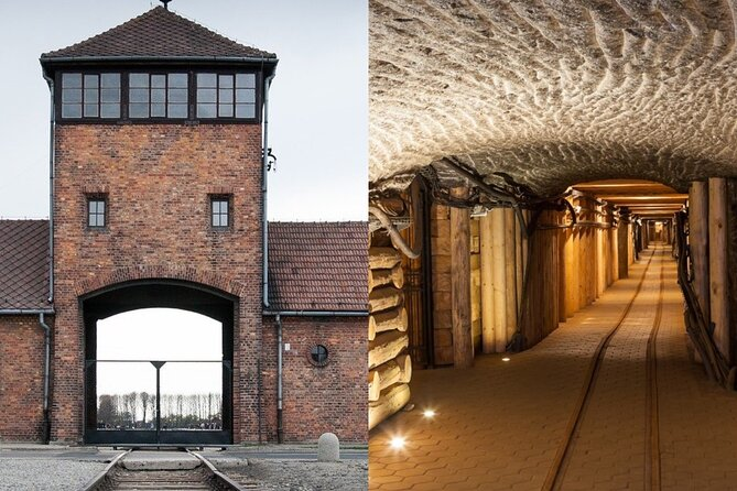 From Kraków: Auschwitz-Birkenau & Salt Mine in 1 Day