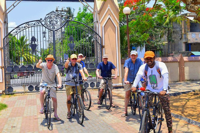 Cycling in Negombo Fishing Village