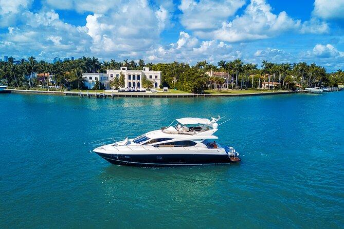 Half-Day 70-Feet Sunseeker Yacht Rental in Miami