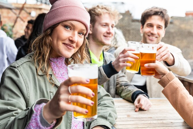 Authentic British Food & Drink Private Tour in London- Local Taverns & Pubs