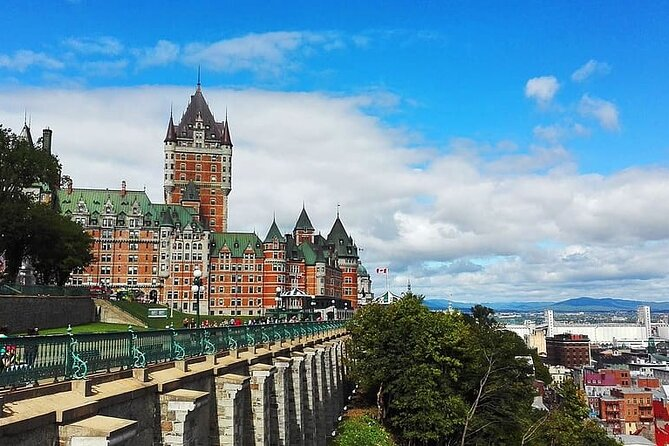 Private Full Day Tour from Montreal to Quebec and Montmorency Falls