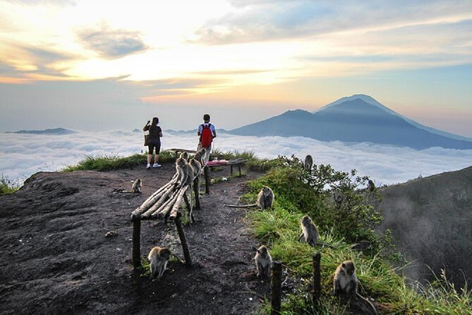 Sunrise Hike Mount Batur + Hotspring