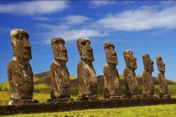 Ahu Akivi The Seven Moais on Easter Island
