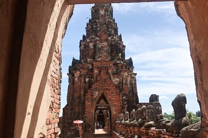 Private Ayutthaya Historical Park Group Tour with Driver