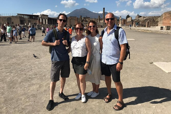 Highlights of Pompeii with Top Rated Guide - Small Group Tour