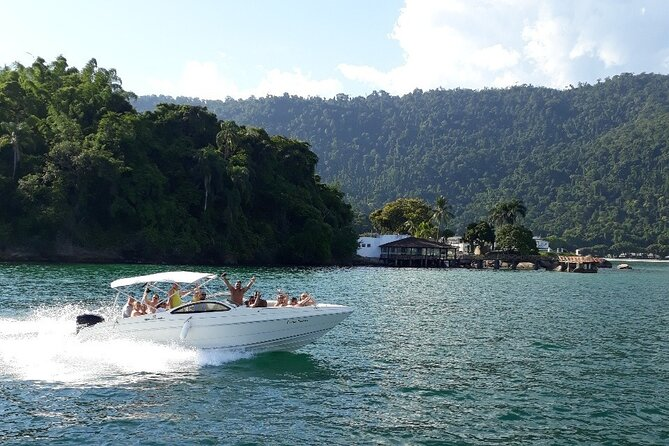 Private Speed Boat Tour in Angra Dos Reis (Optional Transportation from Rio)