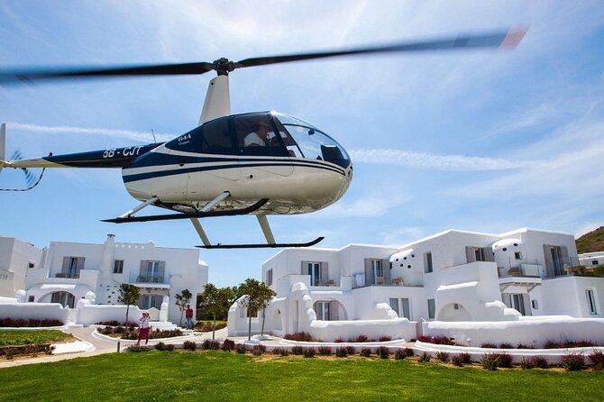 Paros to Athens Helicopter Flight