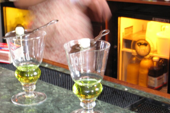 Private tour of Absinthe Tasting at best locations in Prague with a local