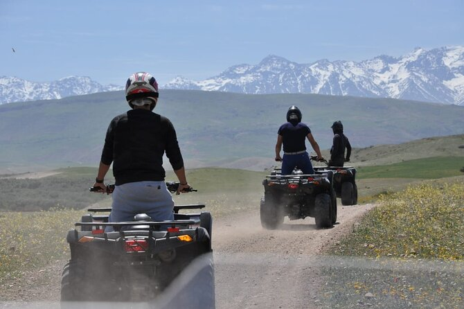 Atlas Mountains Quad Biking Half-Day Tour from Marrakech