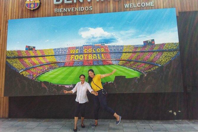 Private Barcelona Camp Nou & Shopping La Roca with Hotel pick-up