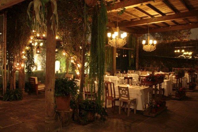 Dinner at Café del Museo Larco restaurant