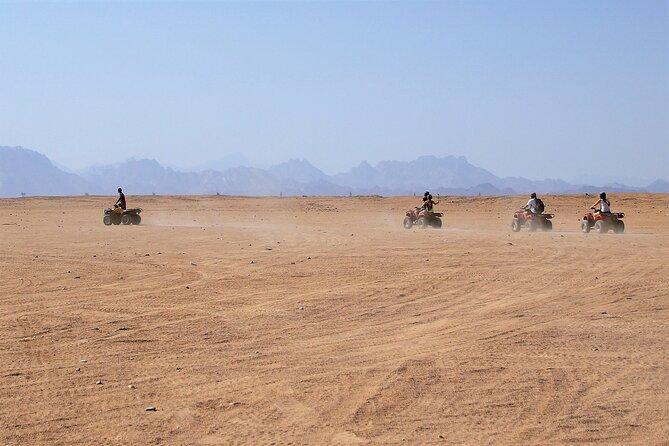 From sharm El- Sheikh :Quad Bike with oriental Dinner & Desert Show