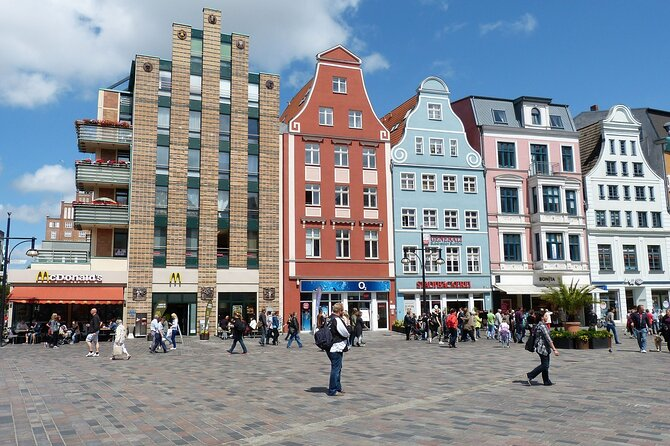 Surprise Walk of Rostock with a Local