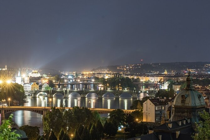 Best views of Prague by night