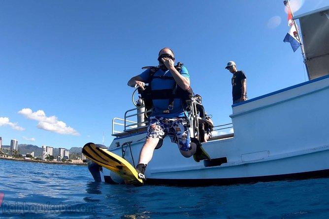 Private Boat Scuba Tour