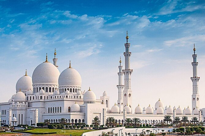 Abu Dhabi Full-Day Small-Group Tour With Lunch From Dubai