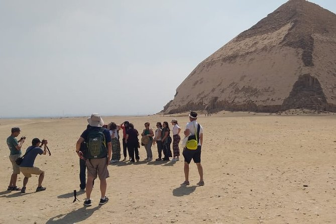 Private tour to Sakkara, Memphis, and Dahshur including entrance fees with Lunch