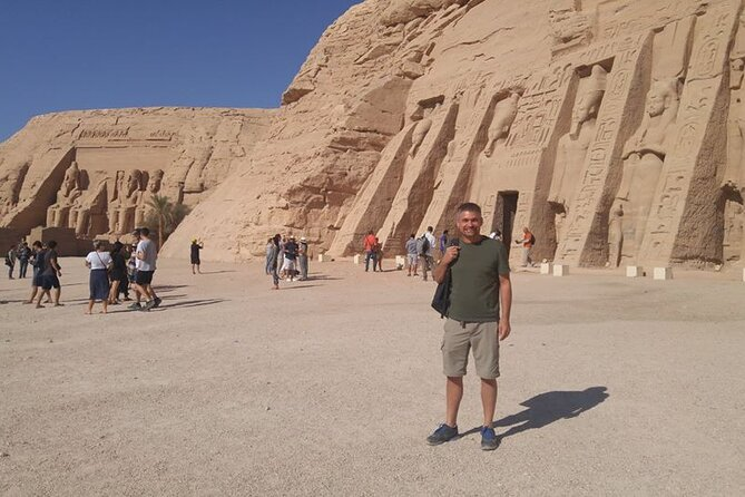 One Package Abu Simbel Temples with Philae Temple and High Dam From Aswan