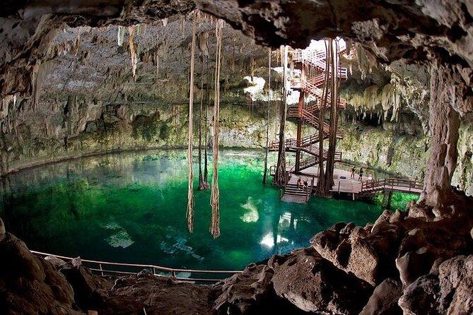 Ek Balam, Mayan Cenote From Cancun