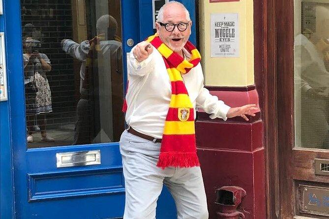 Visite privée: excursion Harry Potter dans Londres en taxi londonien, avec croisière sur la Tamise