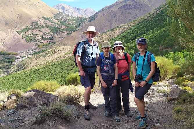4 Day Family Trek In Morocco - Atlas Mountains and Berber Villages & Waterfalls
