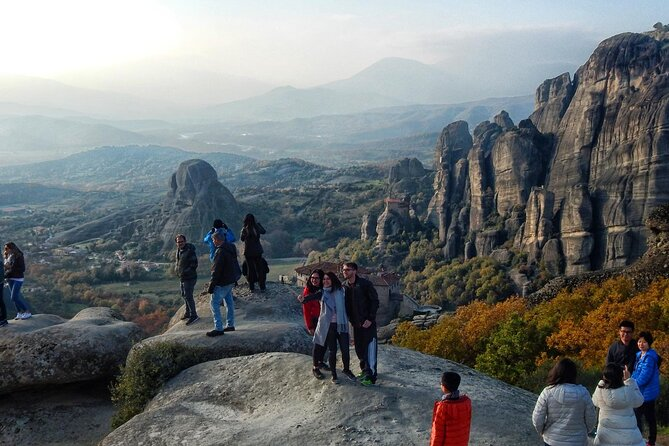 Sunset Tour on Meteora