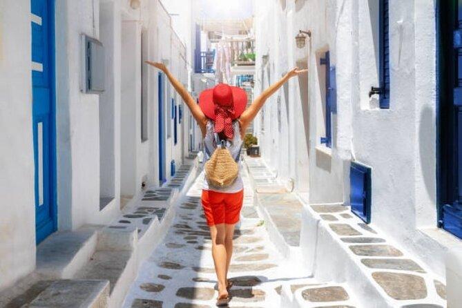 Faits saillants privés de Mykonos Tour