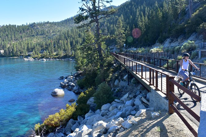 Morning Half-Day Electric Bike Rental in Lake Tahoe