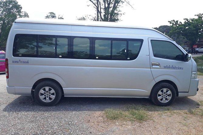 Private : Airport Transfer by Mini Van